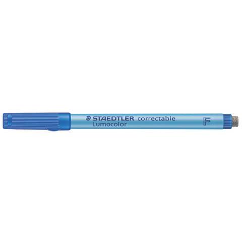 #10xLumocolor Correctable 305 F Blau Wasserlöslich