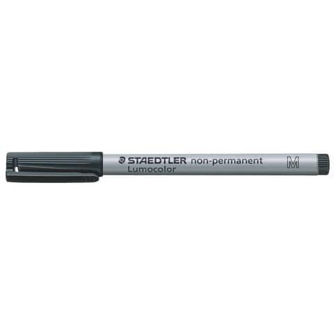 #10xLumocolor Folienschreiber mittel schwarz Wl 3159