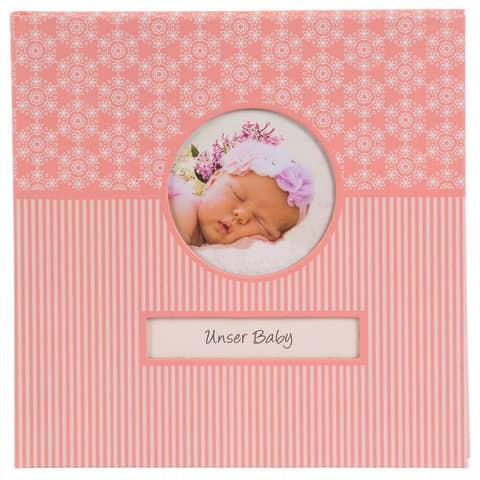 Fotobuch Baby Mandala rosa