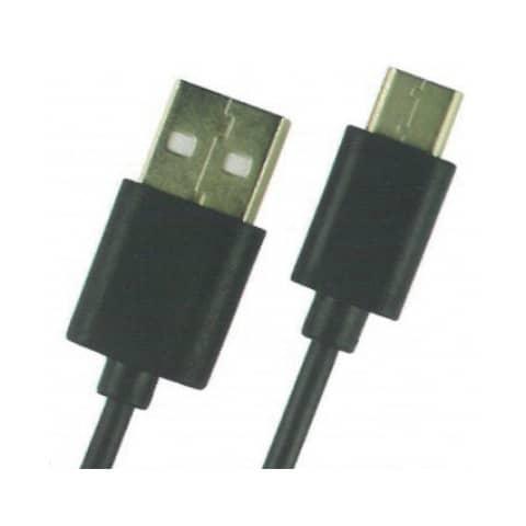 SKW USB-Kabel Typ-C für Android schwarz