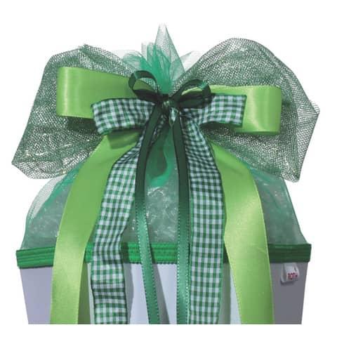 ROTH LED-Schultütenschleife Green Lights, grün