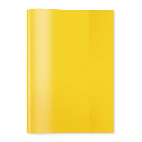 HERMA Heftschoner, DIN A4, aus PP, transparent-gelb