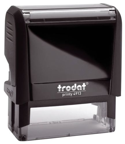 trodat Textstempelautomat 4913 Printy 4.0, eco-schwarz