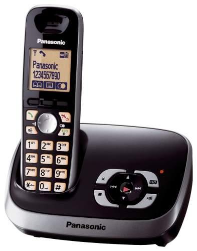 DECT Schnurlos Telefon schwarz