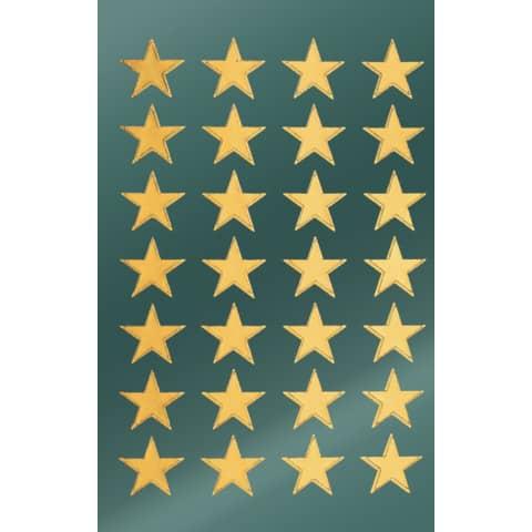 #10xAVERY ZWECKFORM Weihn.Schmucketikett Stern15mm