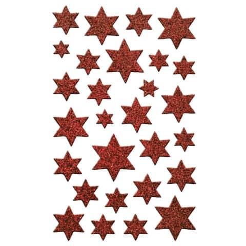 #10xAVERY ZWECKFORM Weihn.Schmucketikett Sterne