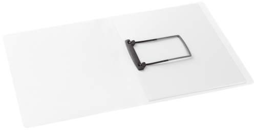 Clip-Mappe A4 PP weiß