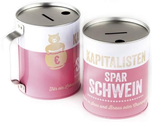 Spardose Kapitalistenschwein