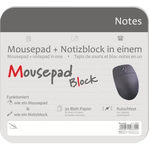 RNK Mousepad-Block 220x240mm 30BL