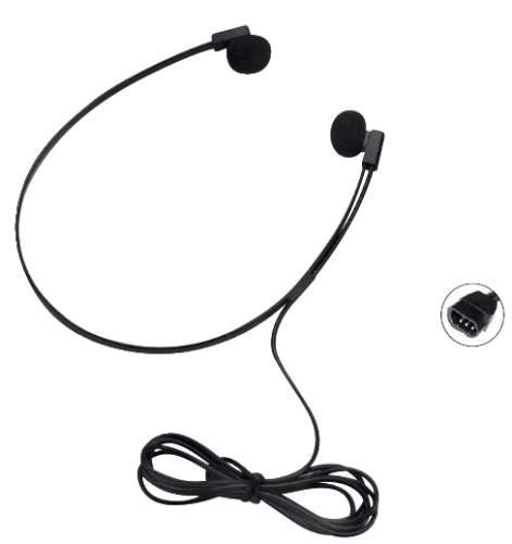 Kopfhörer de Luxe schwarz