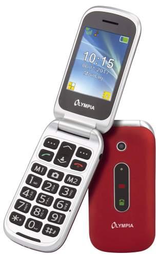 Mobiltelefon Komfort rot