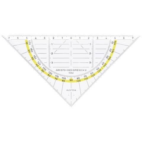 ARISTO Geodreieck 16cm ohne Griff