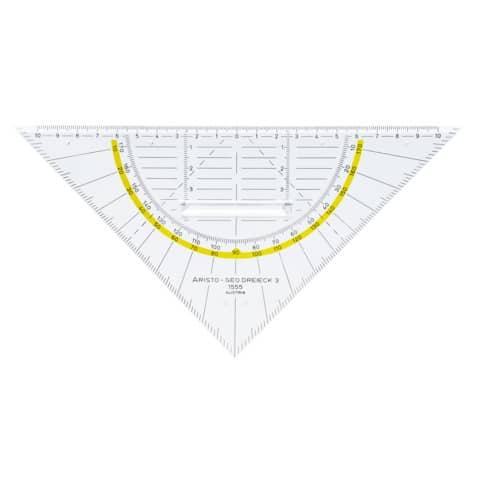 ARISTO Geodreieck 22,5cm mit Griff