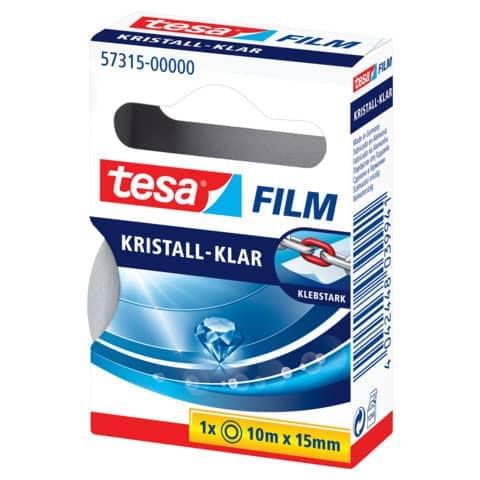 tesa Film, kristall-klar, 15 mm x 10 m