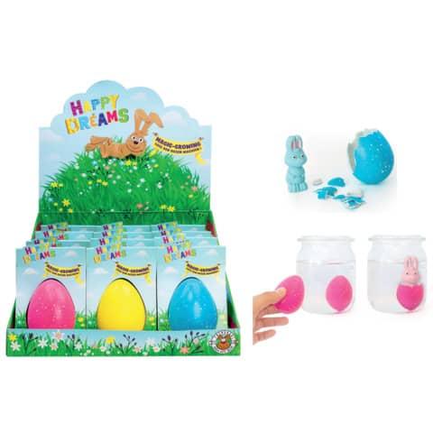 #12xHAPPY DREAMS Magic Growing Egg sort.