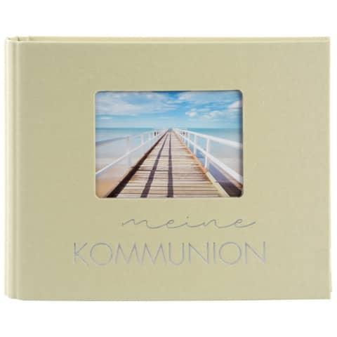 Fotospiralbuch Kommunion lindgrün
