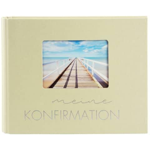 Fotospiralbuch Konfirmation lindgrün