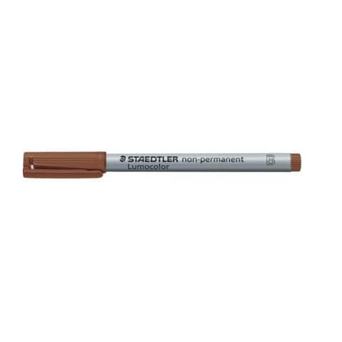STAEDTLER Folienstift Lumocolor B braun