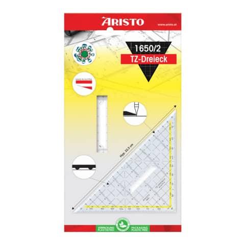 ARISTO Tz Dreieck 22,5cm mit Griff