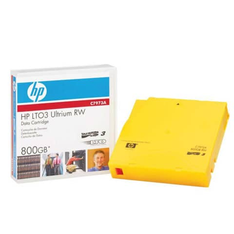 Hewlett Packard DATA Cartridge RW Ultrium LTO III, 400/8...