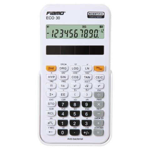 FIAMO Schulrechner 10-stellig weiß