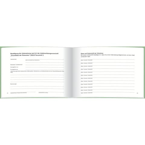 RNK Unterweisungsbuch A5quer