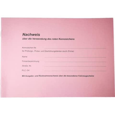 RNK Nachweisbuch Rote Kennzeichen