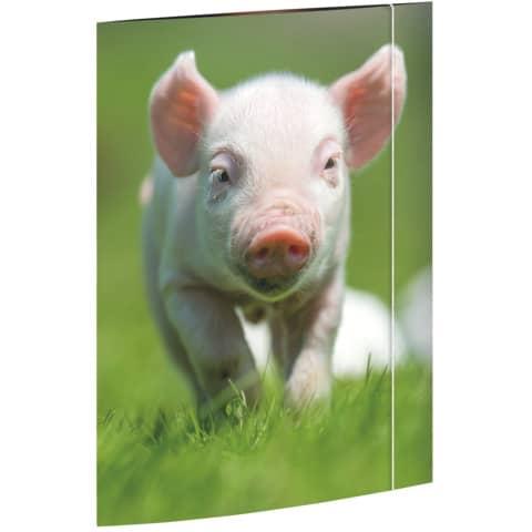 RNK Verlag Zeichnungsmappe Schweinchen, DIN A3