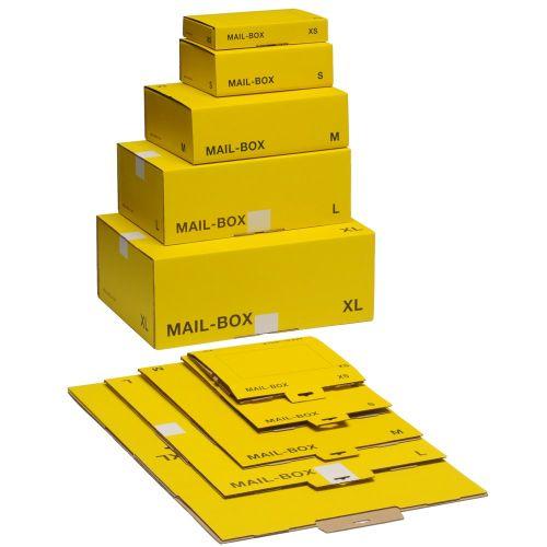 #10xVersandkarton XS gelb