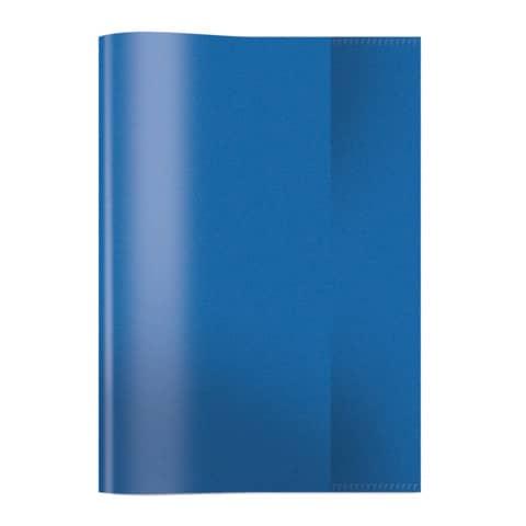HERMA Heftschoner, DIN A5, aus PP, transparent-blau