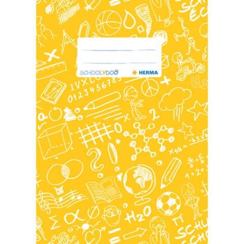 HERMA Heftschoner Schoolydoo, DIN A5, aus PP, gelb