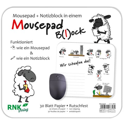 RNK Mousepad-Block 220x240mm