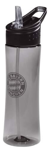 Trinkflasche transparent anthrazit