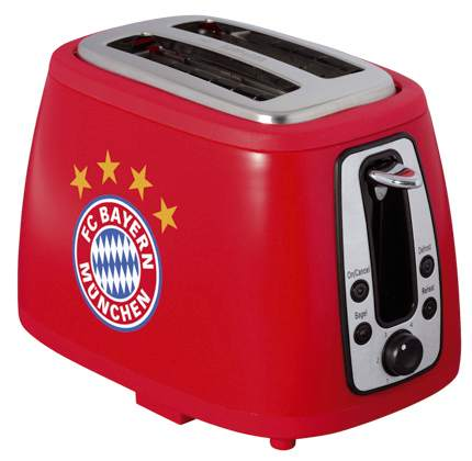 Toaster Logo rot