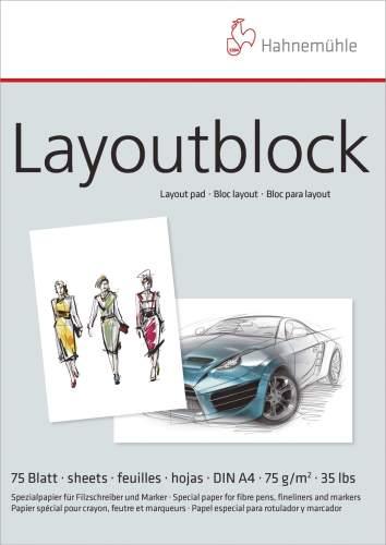 Layoutblock A4 75BL 75g