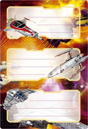 #10xBuchschild Raumschiff