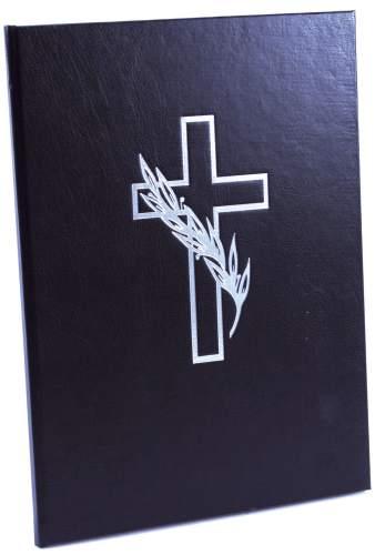 goldbuch Kondolenzbuch, 210 x 280 mm, 44 Seiten, schwarz