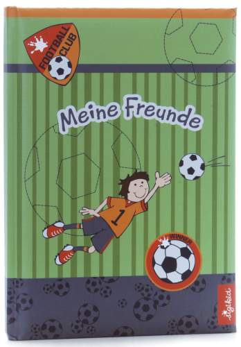 goldbuch Freundebuch Kily Keeper, DIN A5, 72 Seiten