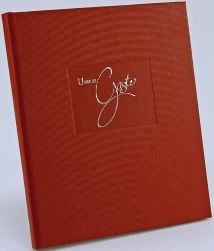 goldbuch Gästebuch Seda, 176 Seiten, rot