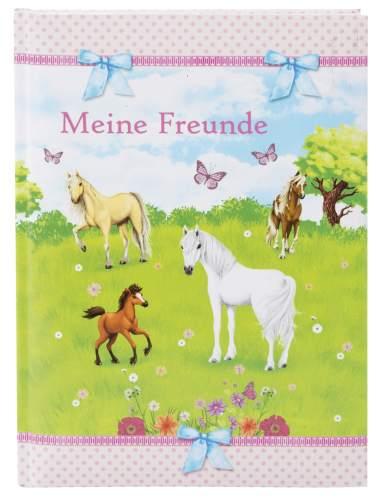 Freundebuch A5 Pferdeweide
