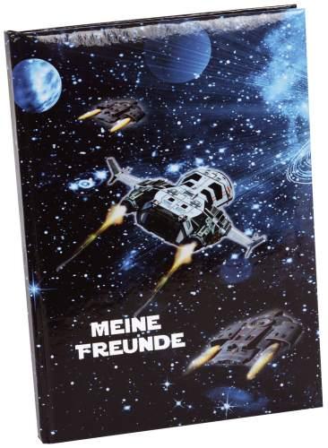 goldbuch Freundebuch Raumschiff, DIN A5, 72 Seiten