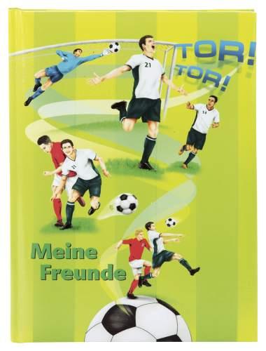 Freundebuch A5 Fussballer