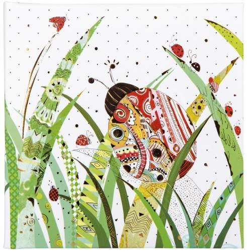 goldbuch Poesiealbum Lady Bug, 165 x 165 mm, 96 Seiten