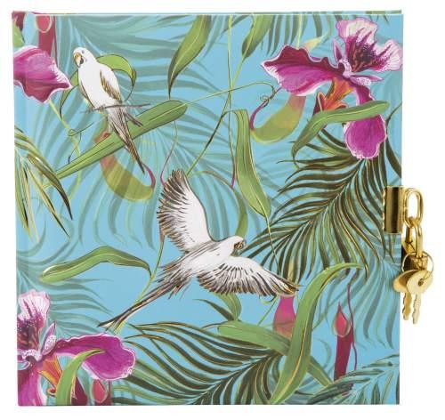 Tagebuch Tropical Papagei