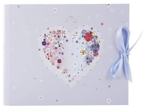 Gästebuch Hochzeit Hearts of Flowers