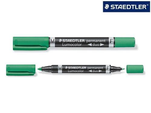 #10xOverheadstift Duo perm. grün