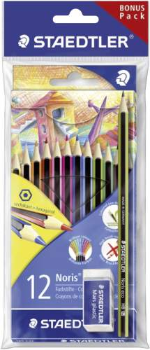 STAEDTLER Buntstift Noris Colour WOPEX, 12er Karton + Set