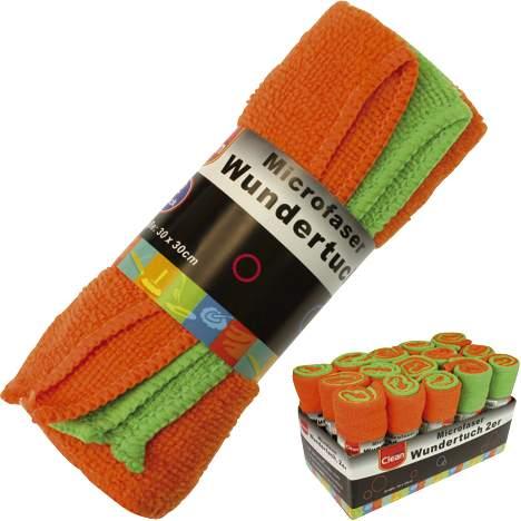 Microfaser Wundertuch 30x30cm 2 Farben