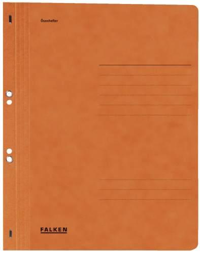 Ösenhefter  orange   1/1 Deckel