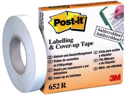 Post-it Korrektur- und Abdeckband, 8,4 mm x 17,7 m